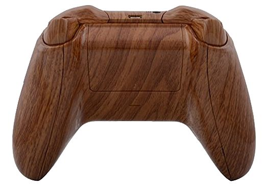 WOODGRAIN HYDRO-DIPPED XBOX ONE WIRELESS CONTROLLER WITH