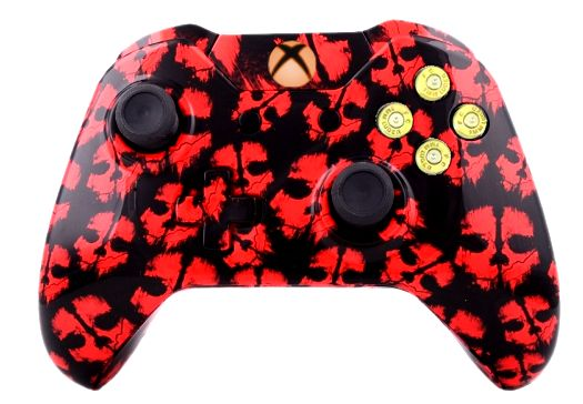 COD Ghost Red Hydro-Dipped Xbo