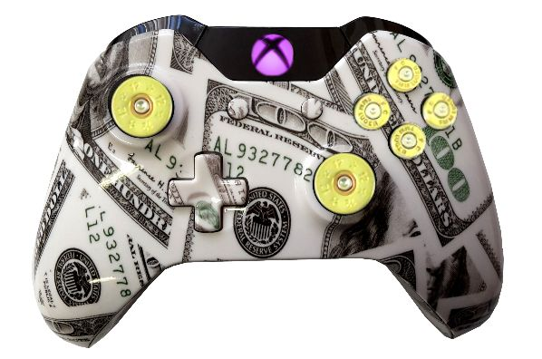 Money Maker Hydro-Dipped Xbox